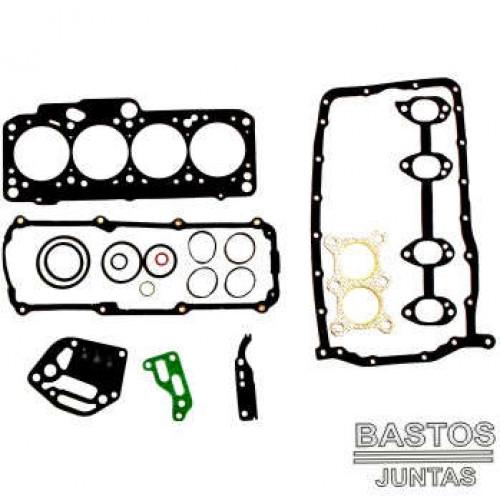 JOGO DE JUNTAS DO MOTOR VW /AUDI 1.6 8V. 97/.. AKL COM JUNTA DE CABECOTE SEM RETENTORES VOL.